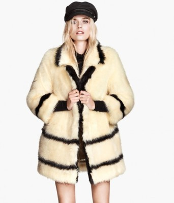 HM Fluffy Coat via HM.com